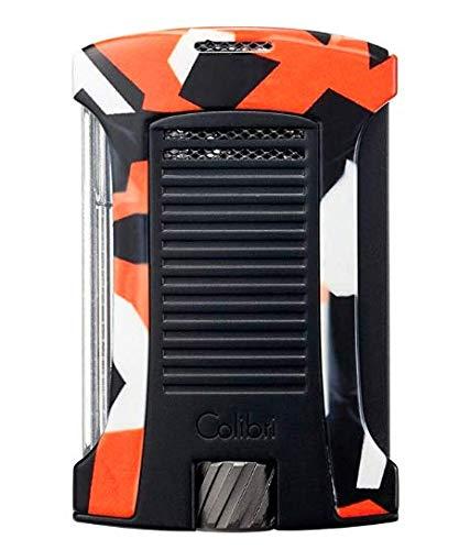 Colibri Daytona Single Jet Flame Lighter (Camo) (Orange Camo) ()