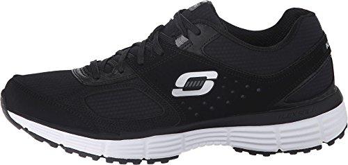 SKECHERS Women's Agility - Ramp Up Black/Charcoal Sneaker 8.5 B (M)
