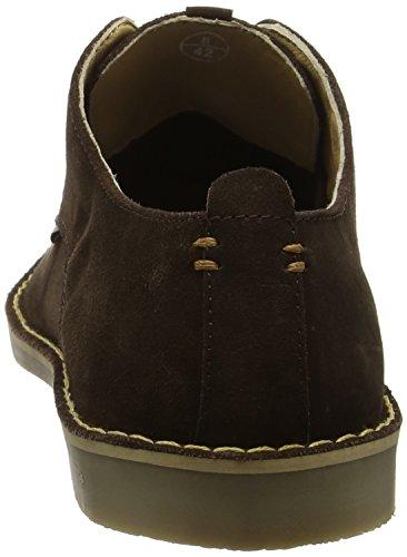 Ben Sherman Mocam Low, Zapatos para Hombre Marrón (Cow Suede Chocolate)
