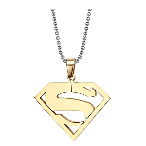 T-Perfect Life 24 inch Chain Stainless Steel Superhero