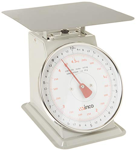 Winco SCAL-810 10-Pound/4.55kg Scale with 8-Inch Dial