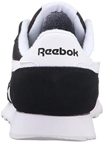 Reebok Heren Royal Nylon Classic Fashion Sneaker Zwart / Zwart / Wit