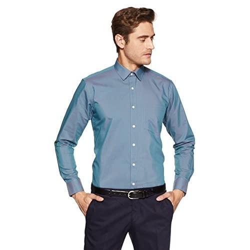 41smcjl4sCL. SS500  - Amazon Brand - Symbol Men's Formal Fil a Fil Regular Fit Shirt
