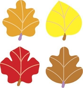 TREND enterprises, Inc. Autumn Leaves superShapes Stickers, 800 ct