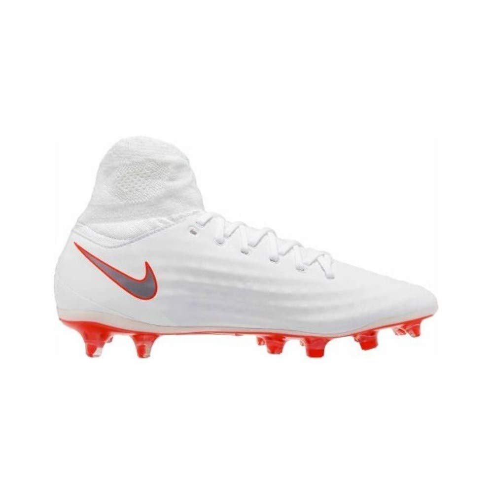 0d01e5be6 Amazon.com | Nike Obra 2 Pro DF Firm Ground Cleat (9.5 D(M) US) White/Grey  | Soccer