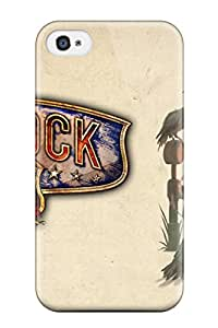 7023274K52479609 Unique Design Iphone 4/4s Durable Case Cover Bioshock Infinite