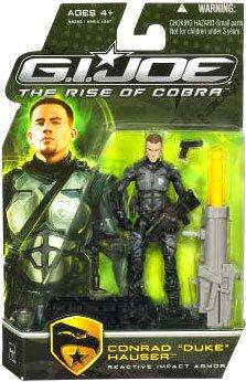 "G.I. Joe The Rise of Cobra 3 3/4"" Action Figure Conrad Duke Hauser (Reactive Impact Armor)"