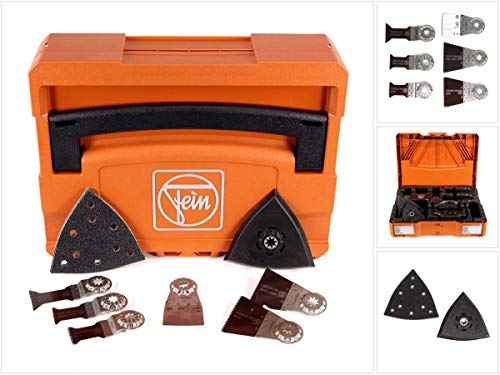Fein 33901146220 Fein Systainer Kit With Accessories, Orange