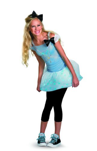 Disney Princess Cinderella Tween Costume, Blue/White/Black, Medium
