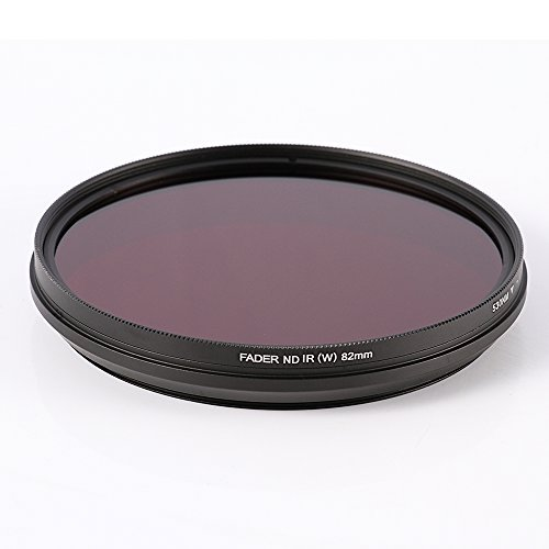 Ruili 77mm Six-in-One Adjustable Infrared IR Pass X-Ray Lens Filter 530nm to 750nm Screw-in Filter for Canon Nikon Sony Panasonic Fuji Kodak DSLR Camera by Ruili