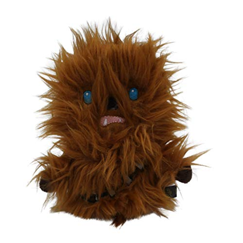 Star Wars Plush Chewbacca Flattie Dog Toy | Soft Star Wars Squeaky Dog Toy -