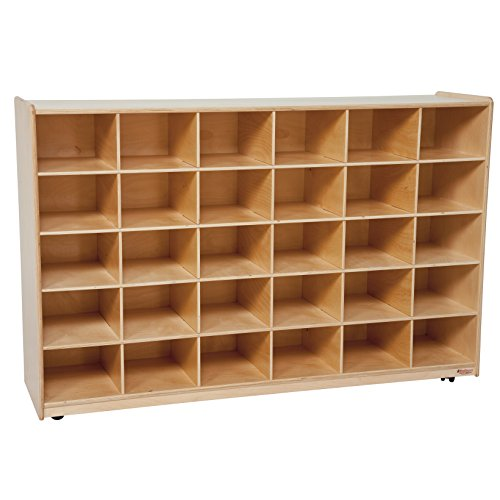 Wood Designs WD16039 (30) Tray Storage without Trays, 36 x 58 x 15