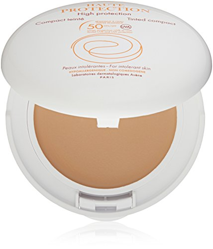 Eau Thermale Avène High Protection Tinted Compact SPF 50 Sunscreen, Beige, 0.35 oz. by Eau Thermale Avène