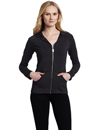 Pink Lotus Women's Constellation Hooded Jacket, Black, Large