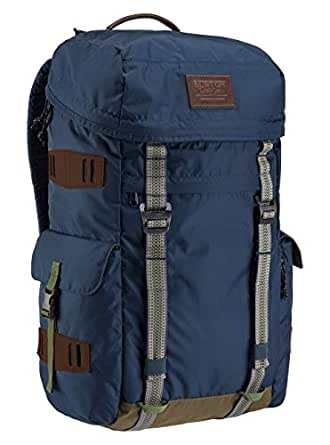 """Burton Snowboards Unisex Annex Pack Luggage, Mood Indgo Ripstop Cordura, Dimensions: 20"""" x 10.5"""" x 7"""", Volume: 28L, Durably Constructed"""