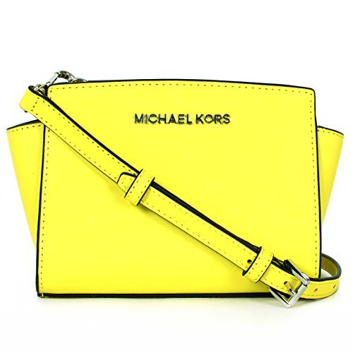98d0ca6a8ac0 MICHAEL Michael Kors Selma Saffiano Leather Mini Messenger (Canary) - Buy  Online in UAE. | michael kors Products in the UAE - See Prices, Reviews and  Free ...