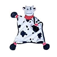 Blankey Pets Plush Security Blanket - Cow