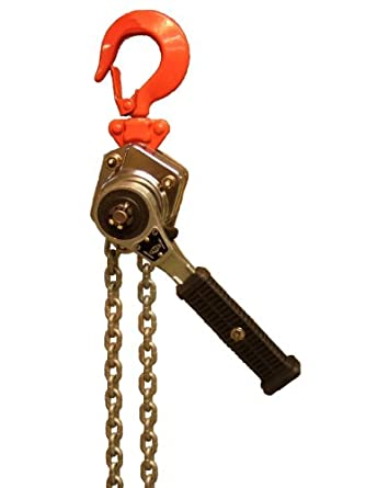 Elephant Lifting YII-25 Ratchet Mini Lever Hoist, Hook Mount