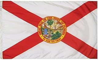 product image for All Star Flags 5x8' Florida Nylon State Flag - All Weather, Durable, Outdoor Nylon Flag