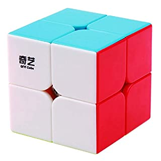 BestCube Qiyi 2x2 Qidi 2x2x2 Speed Cube Stickerless Puzzle Cube (Qidi S Version)
