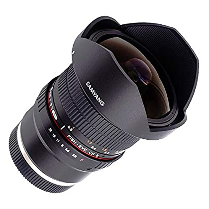 Image of Camcorder Lenses Samyang 8 mm F3.5 Fisheye Manual Focus Lens for Sony-E
