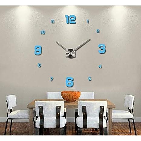 kamas chfl special large diy quartz 3d wall clock living room rh amazon com big wall clocks for living room india