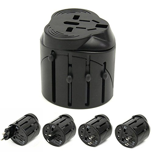 Price comparison product image Universal Power Adapter Electric Converter US / AU / UK / EU World USB Travel Plug New