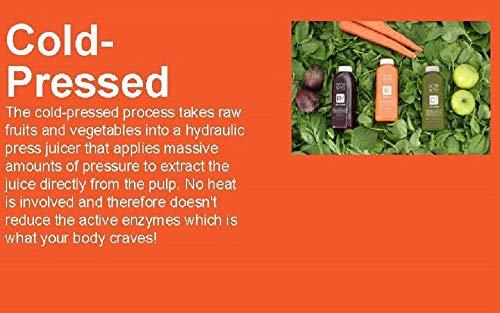 WYSIWYG Cold Pressed Plant Powered STRAIGHT UP Celery Juice 16 oz Bottles by WYSIWYG Juice Co. (Image #1)