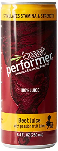 Beet Performer Beet Juice with Passion Fruit Juice 8.4 Fl. Oz. Can (12 ()