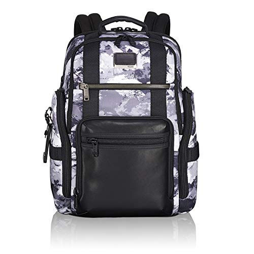 TUMI - Alpha Bravo Sheppard Deluxe Brief Pack Laptop Backpack - 15 Inch Computer Bag for Men and Women - Arctic Restoration