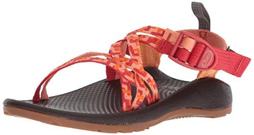 Chaco Girls' ZX1 Ecotread Sport Sandal Helix Peach 11 Medium US Little ()