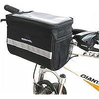 BicycleStoreBicycle Cycling Basket Handlebar Bag with...