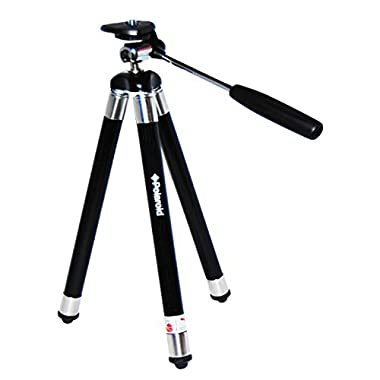 Polaroid 42  Travel Tripod Includes Deluxe Tripod Carrying Case For Digital Cameras & Camcorders