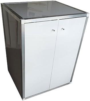 Mueble para proteger la lavadora de 89 x 58 x 66,5 cm, con 2 ...