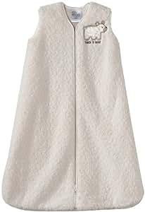 Halo Sleepsack Sherpa Wearable Blanket, Cream, Small