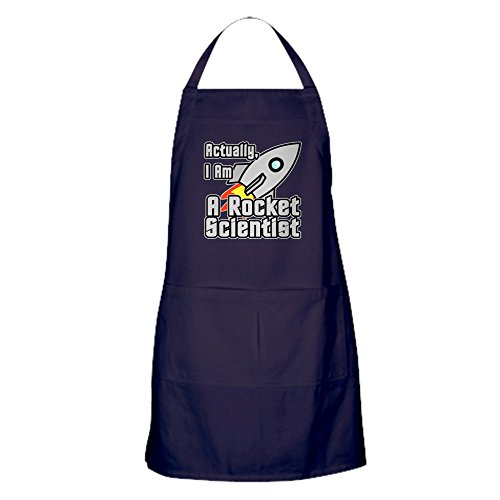 (CafePress Rocket Scientist Kitchen Apron with Pockets, Grilling Apron, Baking Apron)