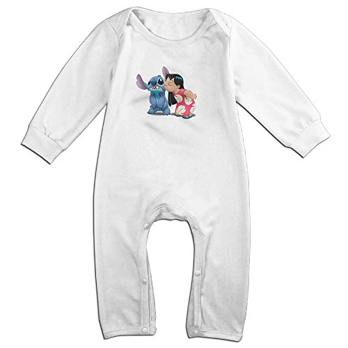 Baby-Infants-100-Cotton-Long-Sleeve-Onesies-Romper-Suit-Lilo-And-Stitch-Babysuits