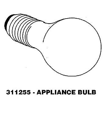 Kenmore Oven Light Bulb: Kenmore STD398091 Oven Light Bulb,Lighting