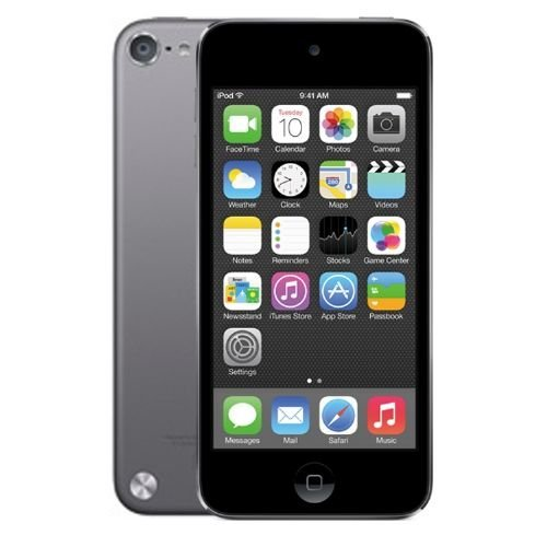 Apple iPod Touch 16GB (5th Generation) - Space Grey - With Rear Camera (Renewed) (Camera No Case Ipod Touch 5g)
