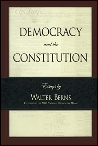 Democracy And The Constitution Essays By Walter Berns Landmarks Of  Democracy And The Constitution Essays By Walter Berns Landmarks Of  Contemporary Political Thought Walter Berns  Amazoncom  Books