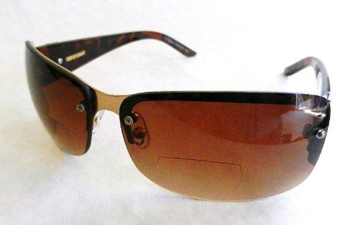 Foster Grant +2.00 BIFOCAL SUNLIGHT READER Sunglasses (313) 100% UVA & UVB Protection + FREE BONUS MICROFIBER CLEANING - Free Sunglasses Rx