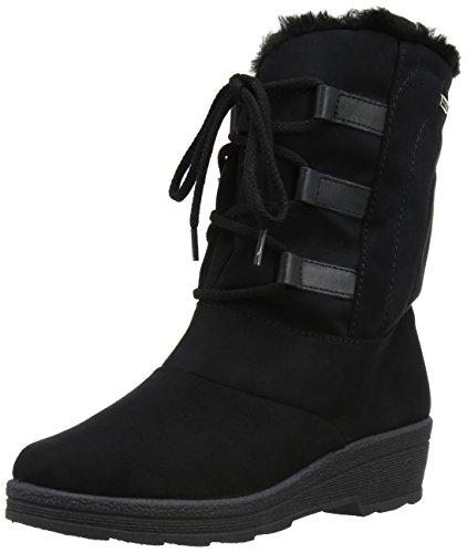 Rohde Shoes 287290, Damen Stiefel Schwarz