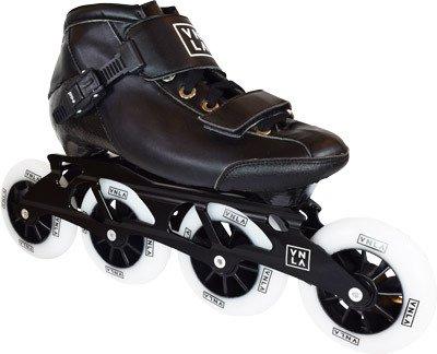 VNLA X1 Inline Roller Skate | Fitness Skate from Vanilla | Carbon Fiber Speed Skate for Men, Women, and Kids - for Indoor / Outdoor skating (size 13)
