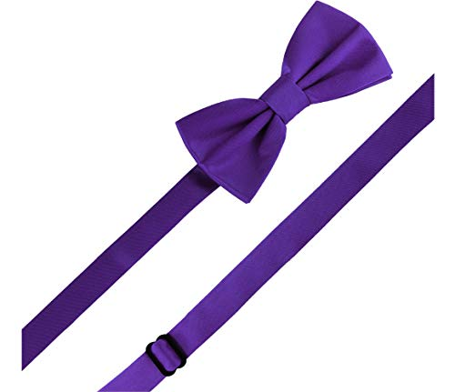 Ladeheid 6cm Tie M Mans 12cm x Dark Bow Purple 4qgz4HZwr