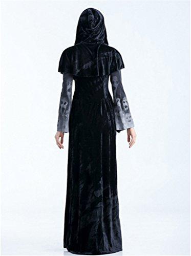 Halloween Donna Lungo Mantello Stile Cappuccio Anguang Mantello Costume 1 Cosplay con q4Pq5Z