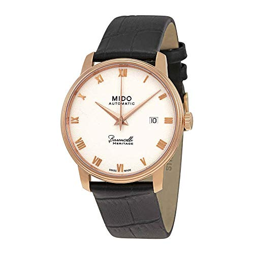 Iii Silver Dial - Mido Baroncelli III Automatic Silver Dial Mens Watch M027.407.36.013.00