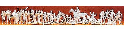 Preiser 16346 Unpainted Set Sport & Leisure HO Scale Figu...
