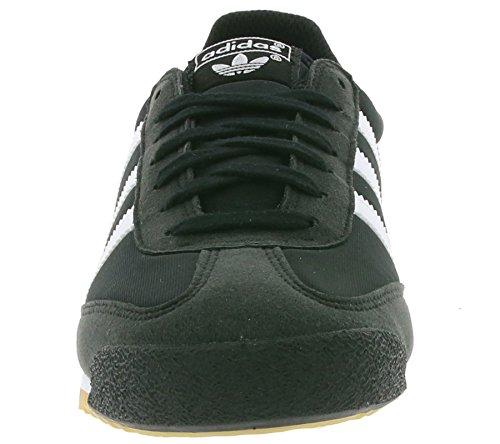 adidas Dragon Og - Tobillo bajo Unisex adulto Negro (Core Black/footwear White/gum)