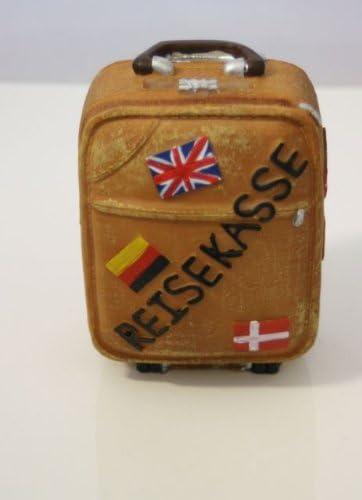 Hucha – Caja registradora de viaje o maleta con ruedas, Trolley: Amazon.es: Hogar