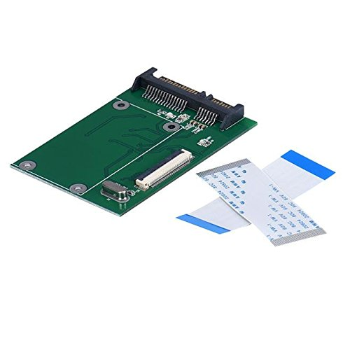 40 Pin ZIF/CE 1.8 Inch SSD/HDD To SATA Male Adapter Converter -